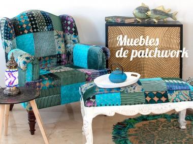 Patchwork: couleurs et design dans toute la maison